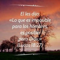 post esperanzador con frase bíblica instagra Publicação no Instagram template