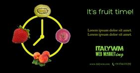 Post Facebook shop fruit, fruit milkshake, fruit centrifuge