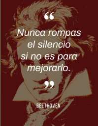 post inspiracional cita de Beethoven