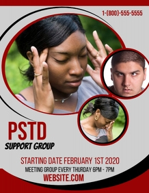 Post Traumatic Stress PSTD Support Group