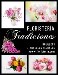 post volante para Ventas de Floristería Pamflet (Letter AS) template
