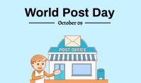 Postal Day Tag template