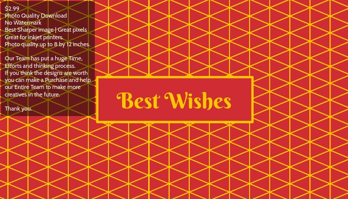 Postcard best wishes greeting card