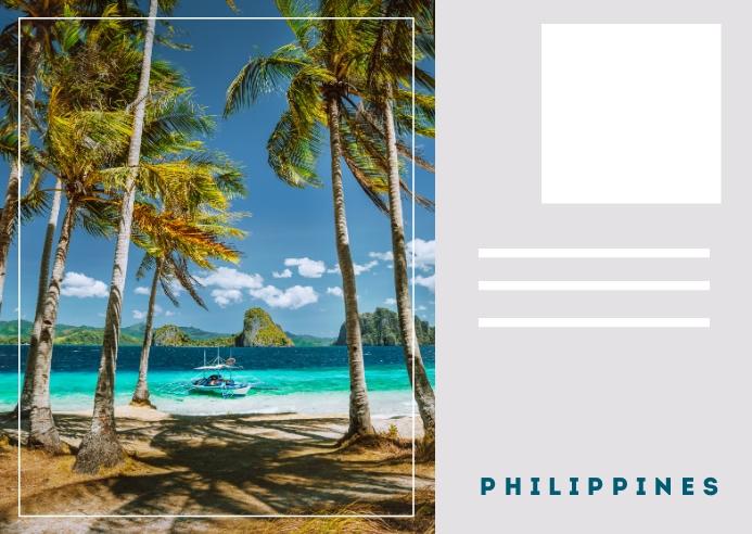 Postcard Philippines Template