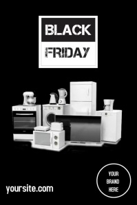 Poster Black Friday โปสเตอร์ template