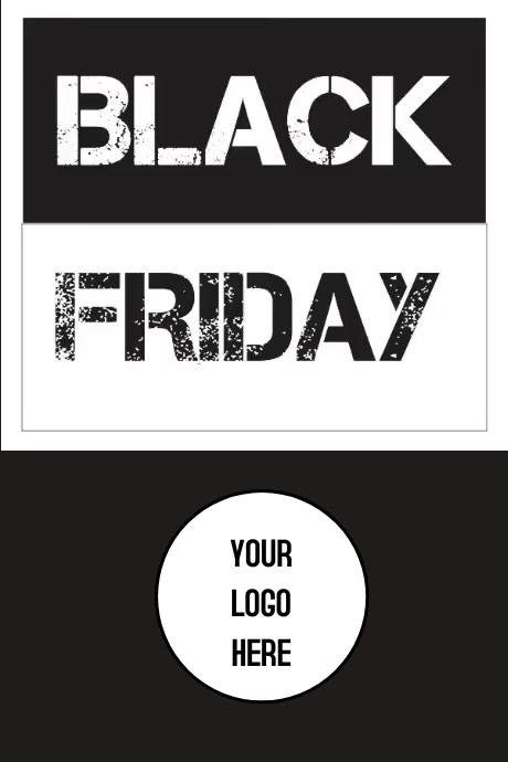 Poster Black Friday Póster template