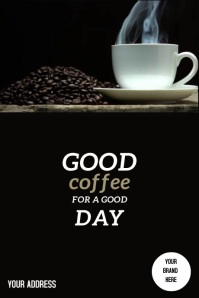 Poster Coffee template