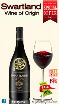 poster de vino Instagram Story template