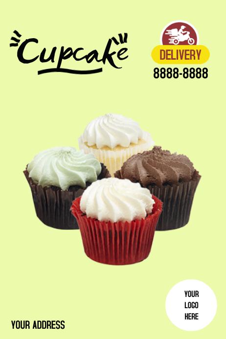 Poster Dessert Plakat template
