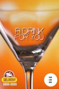 Poster DRINK 海报 template