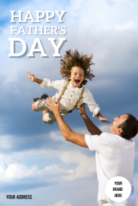 Poster Father's Day Iphosta template