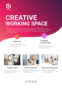 Poster Flyer Corporate Business A4 template