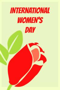 Poster for International Women's Day