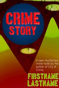 Poster lika a book cover - crime novel