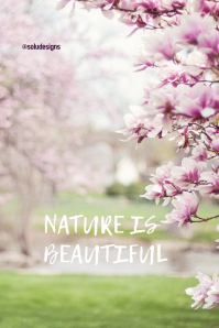 Poster of nature