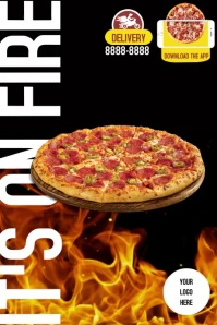 POSTER PIZZA template
