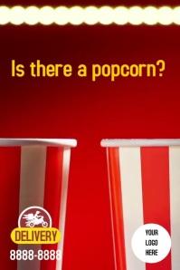 Poster Popcorn Instagram template