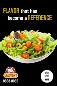 Poster Salada template