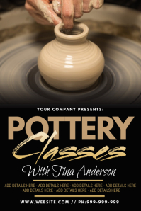 Pottery Classes Poster