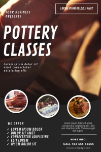 Pottery classes Video ad template