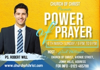 Power of prayer Postal template