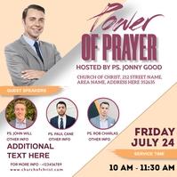 Power of prayer Isikwele (1:1) template