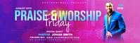 Praise & Worship template Zdjęcie do profilu zawodowego na LinkedIn