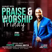 Praise & Worship template Albumcover