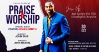 Praise & Worship template Imagem partilhada do Facebook