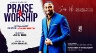 Praise & Worship template Twitter Post