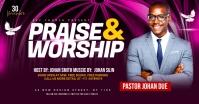 Praise & Worship template Facebook-advertentie