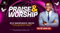 Praise & Worship template Сообщение Twitter
