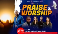 Praise and Worship Tag template