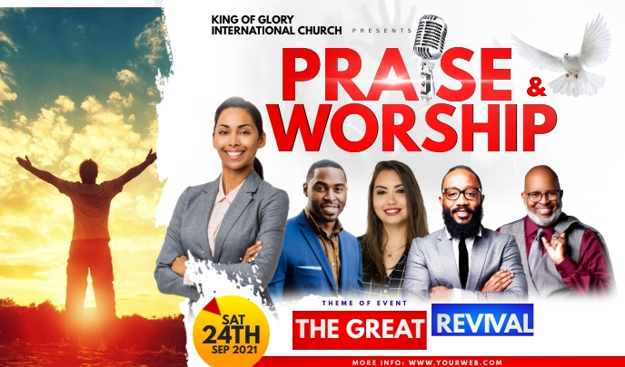 PRAISE AND WORSHIP Тег template