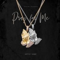 Pray for me - Music Album Cover Template Albumcover