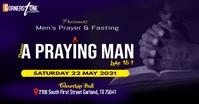 Prayer & Fasting Template Gambar Bersama Facebook