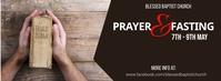 prayer and fasting Фотография обложки профиля Facebook template