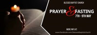 prayer and fasting Facebook Cover Photo template