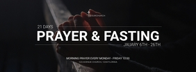 Prayer and fasting social media advert