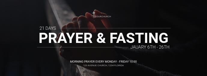 Prayer and fasting social media advert