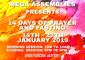 Prayer and Fasting Template