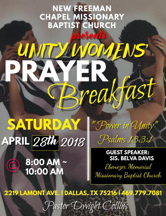 Prayer Breakfast 2018 Program Cover
