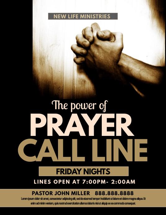 prayer call line