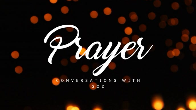 Prayer Chruch Digital Display Video Template