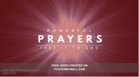 Prayer Church Video Template