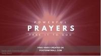 Prayer Church Video Template