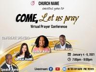 Prayer Conference_4 speakers Presentation template