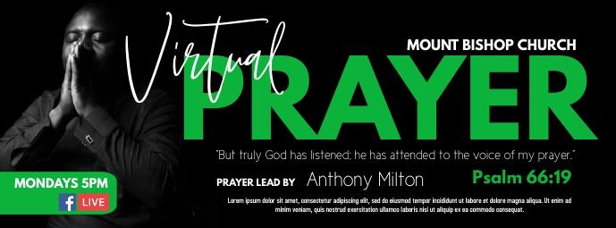 Prayer Facebook 封面图片 template