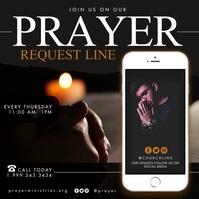 Prayer Instagram Post template