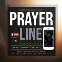 Prayer Instagram na Post template